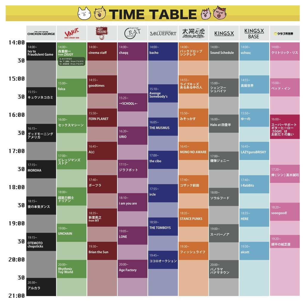 nekofes2018_timetable